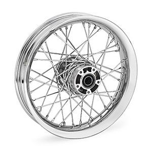 "Harley Davidson Chrome Profile Laced 21"" Front Wheel 44608 08"