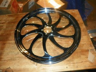 Harley Custom Chopper Chrome Wheel 21 x 2 15 Wide Brand New
