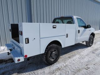 2007 Ford F350 5 4 V 8 Auto 4x4 4 Wheel Drive Service Mechanic Utility Truck