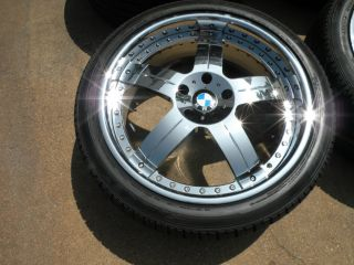 "20"" MHT Forged Wheels Chrome BMW 740 745 750 760 E38 E65 E66 Tires asanti 22"