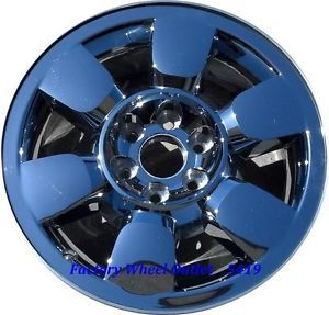 Silverado 20 Chrome Wheels