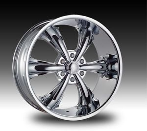 "22"" Chrome Wheels Tires 6x132 GMC Acadia New 265 40 22"