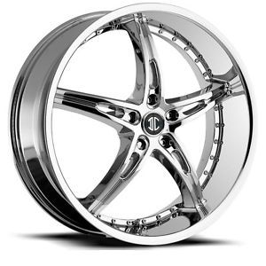 22 inch 2CRAVE NO14 Chrome Wheels Rims 5x120 BMW 1 Series 3 Series Z3 Z4 x3 X5