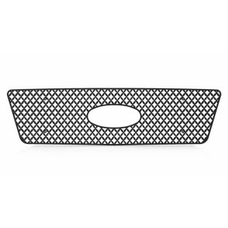 Ford F150 04 08 Diamond Mesh Front Grille Black Powdercoat Billet Truck Parts