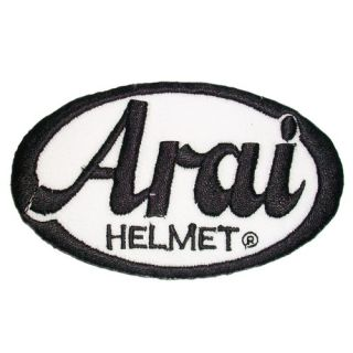 SK A59 Arai Iron on Patch Embroidered Cloth T Shirt Accessories Car Motorcycle