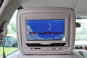 Rear Entertainment DVD Headrest System RSE GMC Chevy Hummer Jeep Chrysler Dodge