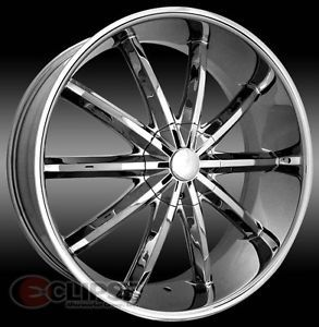 22 inch ELR17 Chrome Wheels Rims Dodge Charger Magnum