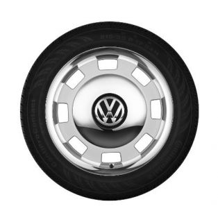 "VW Beetle Volkswagen Bug 2012 Wheel Center Cap Heritage New 17"" inch Chrome"