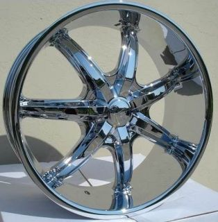 22 inch U35S Chrome Wheels Rims 6x135 Lincoln Navigator