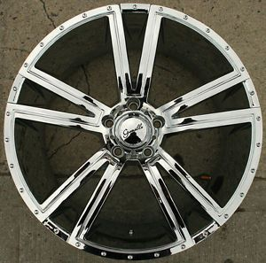 Gianelle Venezia 22 x 9 0 Chrome Rims Wheels Chevrolet Impala 5x127 5H 15
