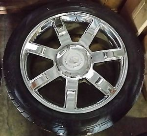 "Cadillac Escalade ESV Ext 22 inch Chrome Wheel Rim 22"" Genuine OE Used 5309"