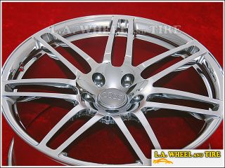 "Set of 4 New 21"" Audi Q5 Factory Chrome Wheels Rims NH1230"