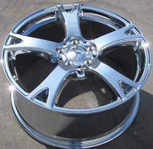 "Exchange Your Stock 2012 19"" Factory Mercedes S350 S550 Chrome Wheels Rims"