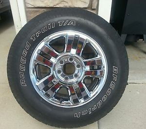 Ford F150 Chrome Wheels and Tires 18""