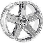 18 inch Chrome Wheels Rims Chevy Express Van GMC Savana 5 Lug 5x5 5x127 New Set