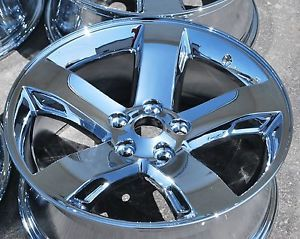 "Dodge Challenger 18"" 2009 2010 2011 2012 Chrome Wheels Rims Exchange Sale"