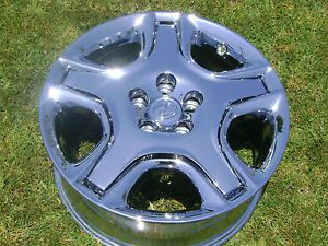 "4 18"" New Lexus SC430 Chrome Wheels Rims Exchange"