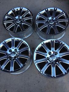 07 08 09 Original Factory Chrysler Aspen 20 inch Chrome Wheels Rims Wheel