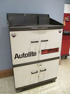 Super Cool Autolite Ford Tool Box Tool Chest Service Writer's Toolbox