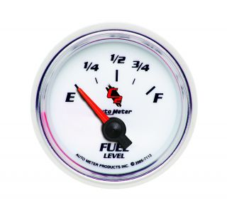 Auto Meter 7113 C2 Electric Fuel Level Gauge