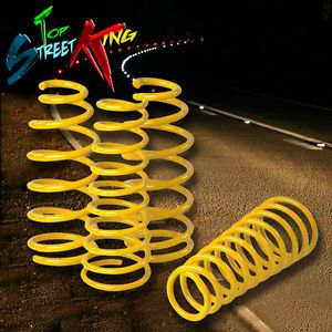 "DNA 1 5"" Drop Suspension lowering Springs Mitsubishi Eclipse Eagle Talon Yellow"