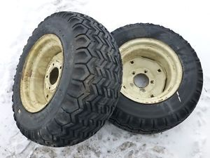 Cub Cadet 149 Tractor Firestone 23x10 50 12 Rear Tires Rims