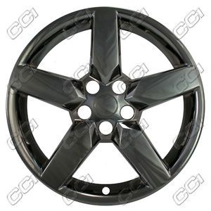 "19"" Black Chrome Wheel Skins 2010 2013 Chevrolet Camaro Fit 5442 Alloy Wheels"