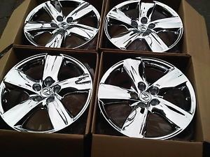"19"" Lexus LS460 LS460L Factory Original Wheels Rims Chrome 74196"
