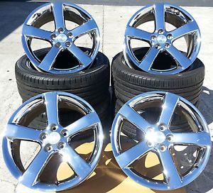 "2008 Pontiac Solstice GXP 18"" Chrome Rims Set of 4 Wheels 6601"