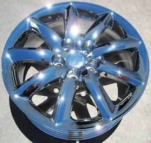 "New Factory 18"" Lexus LS460 LS460HL LS600 Chrome Wheels Rims Set of 4"