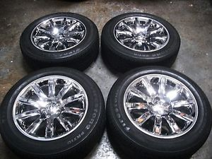 Chrysler 300C Chrome Factory Alloy 18 inch Wheels Tires Rims 300 C Mopar
