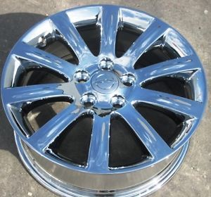 "Exchange Your Stock 4 17"" Factory Chrysler 200 Sebring 200C Chrome Wheels Rims"