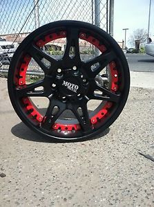 "18"" Black Wheels Tires 5x150 Toyota Tundra 265 70 18 Falken Wild at Moto 961"