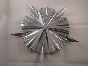 FERRETTI Wheels Chrome Center Cap LG0412 29 Aftermarket Screw in Rims 8 3 16""