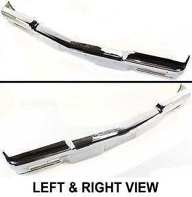 14083891 Front New Bumper Chrome Chevy Chevrolet Caprice 90 89 88 87 86 85 Parts