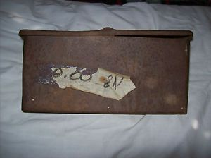Original 8N Ford Tractor Tool Box