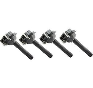 Ignition Coil Pack Set of 4 New VW Audi A4 Volkswagen Passat 99 98 97 1999 1998