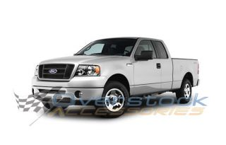"2004 2008 Ford F 150 Super Extended Cab 5"" Stainless Steel Nerf Bars Side Step"