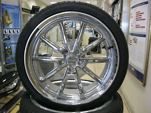 "05 13 Roush Mustang RS1 20"" Forge Wheels Falken 255 35 Tires w TPMS"