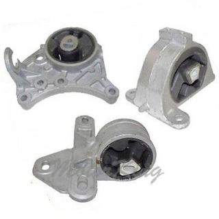 Chrysler Town Country Dodge Grand Engine Transmission Motor Mount Set 3 M280