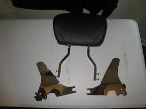 Harley Davidson Quick Release Seat Backrest Luggage Rack L K