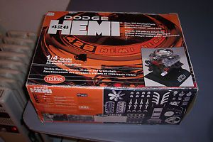 Testors 1 4 Scale Dodge 426 Hemi Engine Model Kit Visible Parts and Functional
