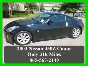 2003 Nissan 350Z Touring Automatic Coupe 350 Z Leather Heated Seats 31K Miles