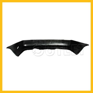 92 93 94 95 Honda Civic Rear Bumper Cover Raw Material Black Plastic Coupe Sedan