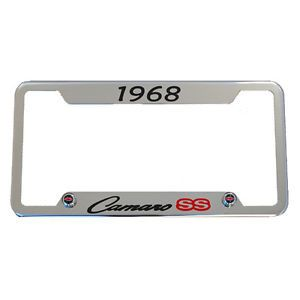 1968 Chevrolet Camaro SS Chrome License Plate Frame Made in USA