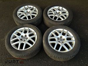 "VW Golf GTI MK4 Genuine 16"" Montreal 2 II BBs Alloy Wheels 1J0601025AN"
