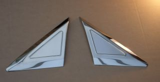 Mercedes Benz Sprinter 06 Stainless Steel Chrome Door Quarter Panel Trim Covers