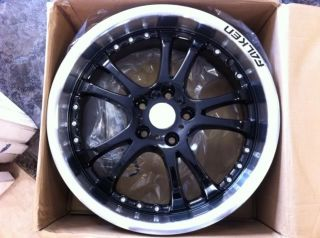 "18"" Falken Torque 5 Wheel Black Machine Lip"