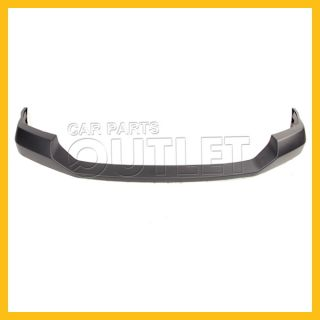 06 07 Ford F 350 Super Duty Front Bumper Facial Upper Cover Pad Raw Texture Gray