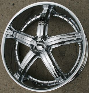 Dub Bomber S165 22 x 8 5 Chrome Rims Wheels BMW 323 325 5H 35